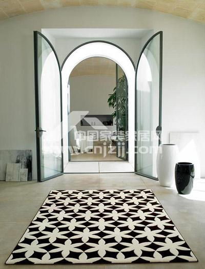 的都市气质.>Esprit地毯-花色地毯 让居室满地春色图片