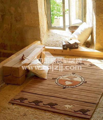 男孩子使用.>Esprit地毯-花色地毯 让居室满地春色图片