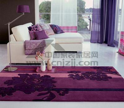 分洒脱随意.>Esprit地毯-花色地毯 让居室满地春色图片
