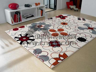 可爱的气质.>Esprit地毯-花色地毯 让居室满地春色图片