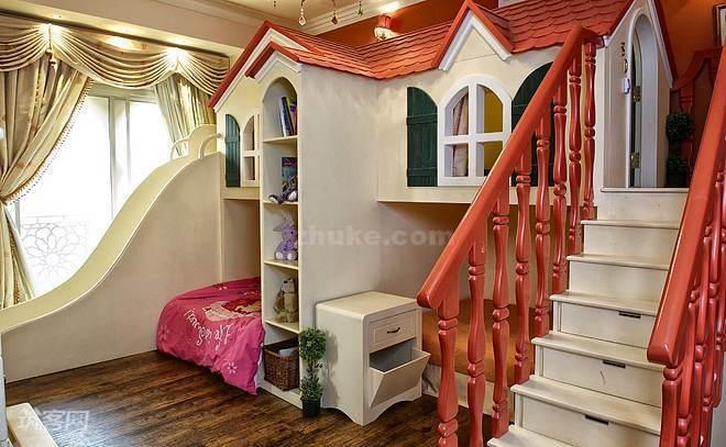 创意儿童房设计效果图八