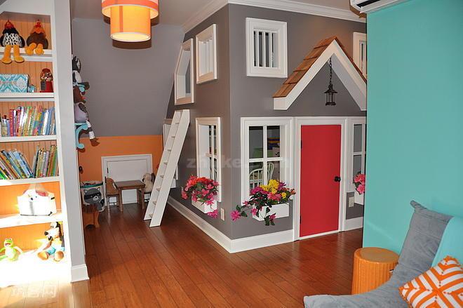 创意儿童房设计效果图七