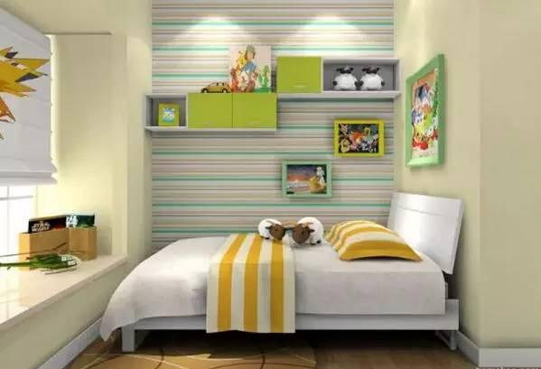 儿童房卧室装修的要点:简洁