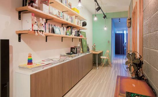 老公寓里新生活 狭长户型巧妙设计