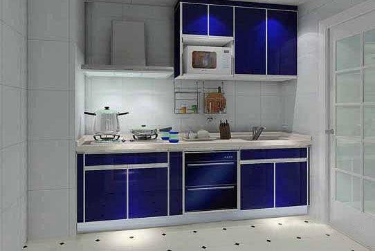 四米厨房装修设计案例及四米图纸v厨房图纸虎鲨号厨房沃马图片
