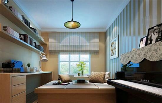 长方形主人房书房设计效果图
