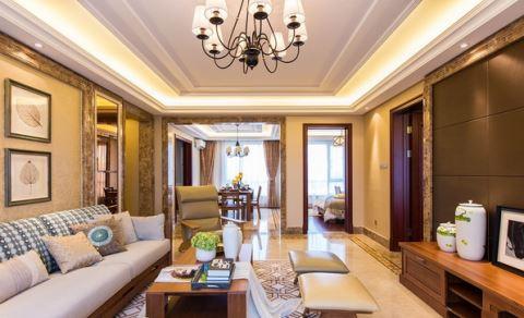 高档的客厅装修时多用铝扣板