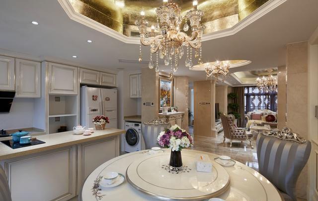 新古典主义 传统欧式风格结合现代的材质及工艺