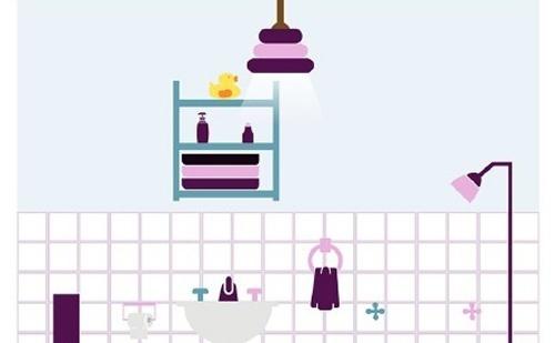 相对摆放的澡盆和马桶之间的距离应该多远?