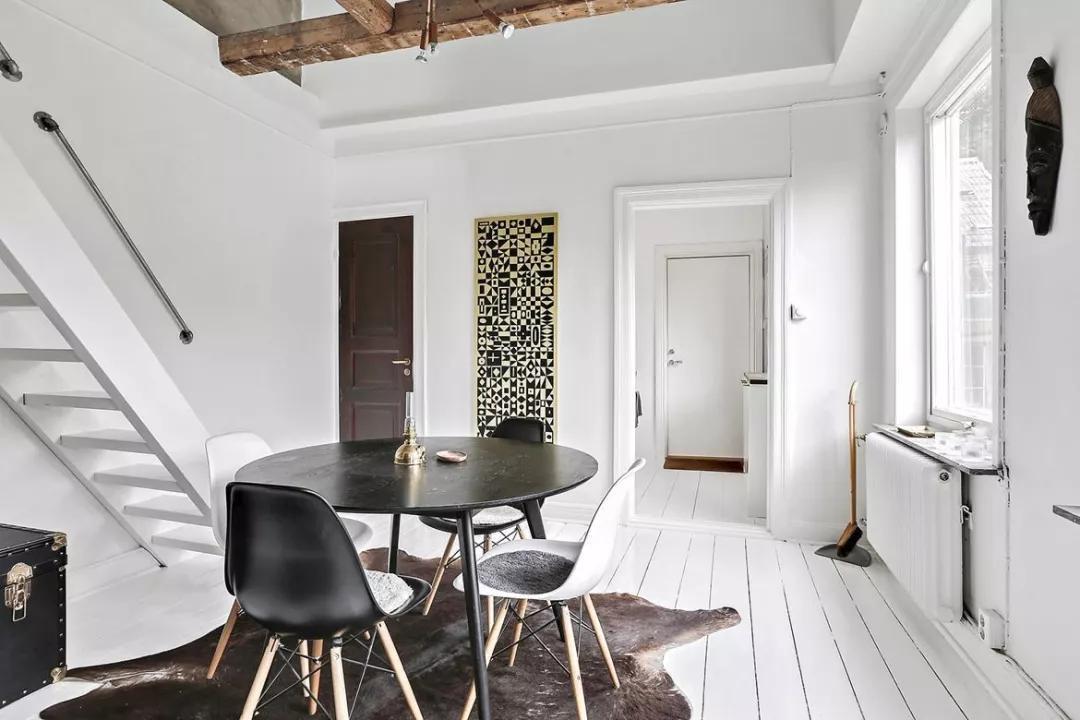 55平米复式公寓设计图