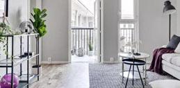 北欧风2间小公寓,如何平衡居家生活